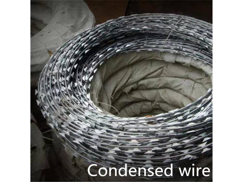 Wire rolling cage factory direct residential community wall residential villa highway galvanized wir