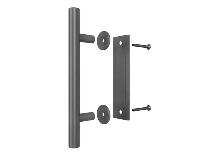 Stainless barn door pull handle wooden sliding door handle
