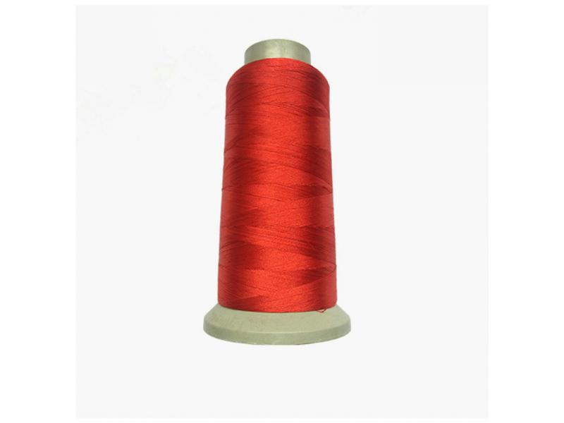 Color clothing textile polyester thread 75d silk conductive embroidery thread