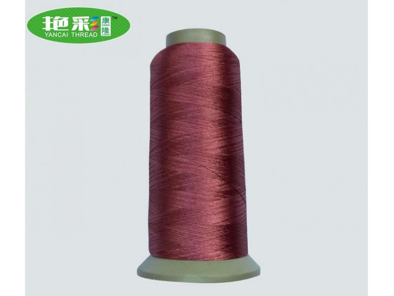 High-strength polyester 150d two-color solid color computer embroidery thread clothes stickers