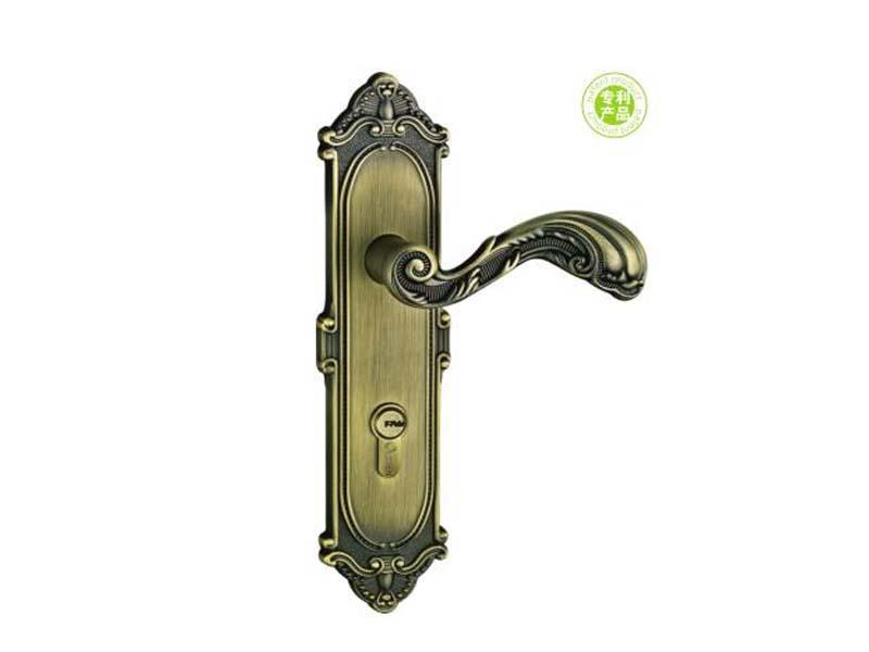 Medium cylinder door lock OLS-CZ-V6201