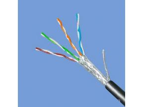 Network cable Double shielded network communication 0.5mm GB copper cable (engineering line)