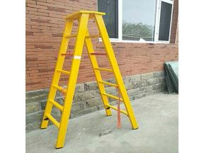 Insulated telescopic ladder Elevator FRP electrical insulation ladder
