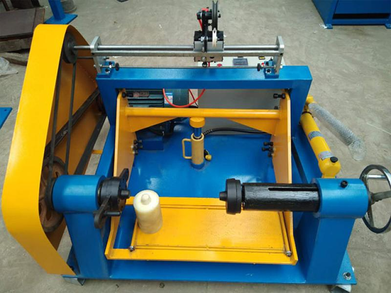 fiber-optic cable winder equipment PVC cable rewinding machine coiling wire machine