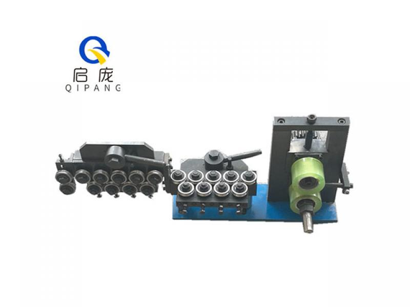 9.52mm Copper wire metal straightening machine steel tube straightener machine