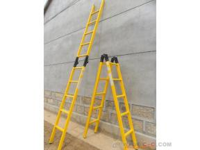 Electrician with FRP insulation ladder herringbone ladder single ladder lifting multi-function ladde