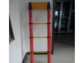3.2 meters power insulation extension ladder round pipe ladder