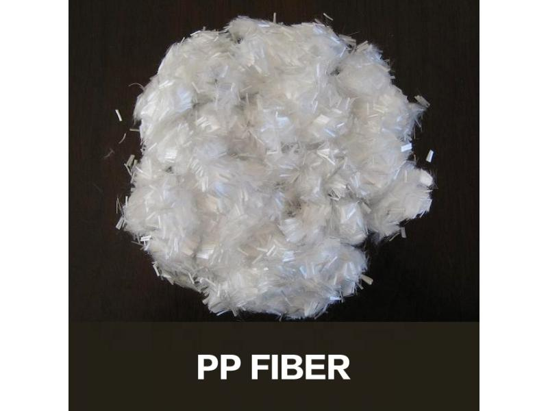 Chopped Polypropylene Fiber PP fiber for concrete reinforcement