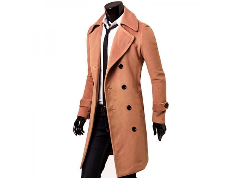 Arrivals Autumn Winter Trench Coat Men Clothing Cool Mens Long Coat Top