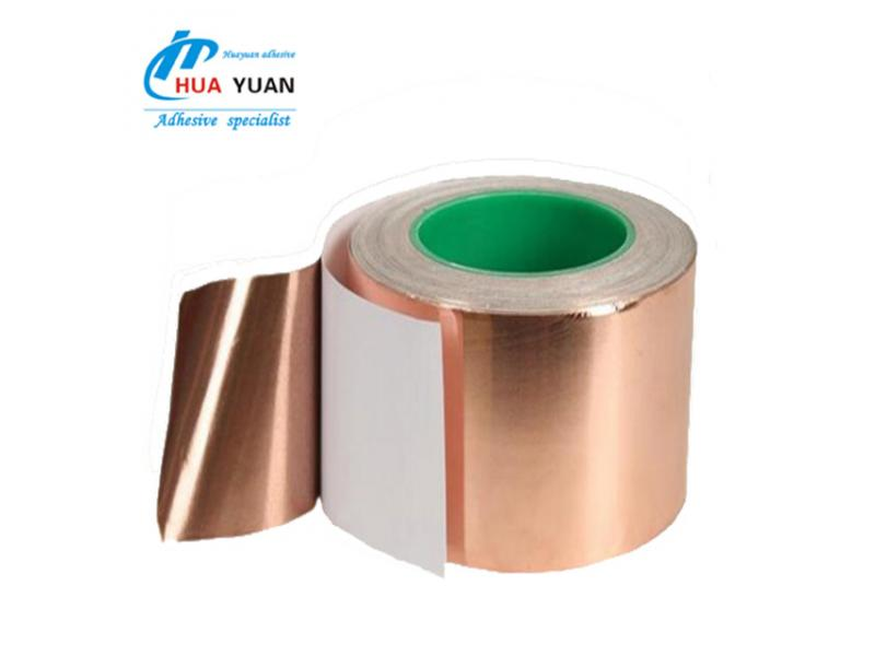 China hot sale!roll copper foil emi shielding tape for masking radio waves