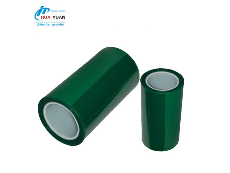 Hot sale! High adhesion and soft sticking PET high temperature tape