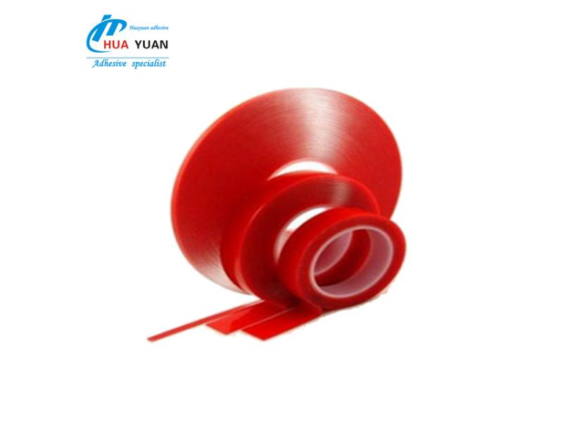 Die cutting VHB transparent double sided 1mm thick foam tape, double sided self adhesive foam tape