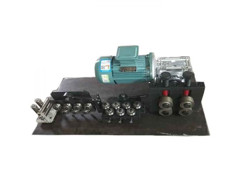 Copper / galvanized steel wire metal straightening machine maunal  straightener roller machine