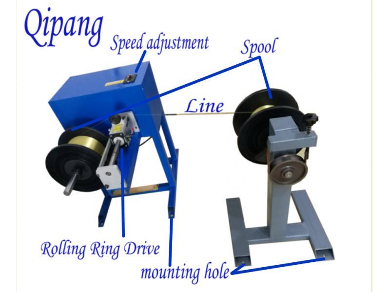 customized thin wire rope rewinding machine take up and payoff machine