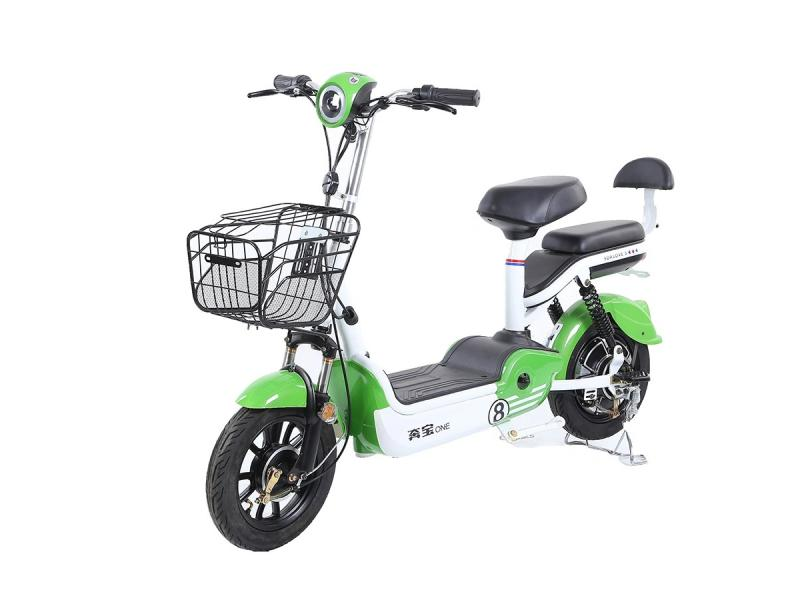 Classic Electric Scooter Electric Bicycle with Pedals