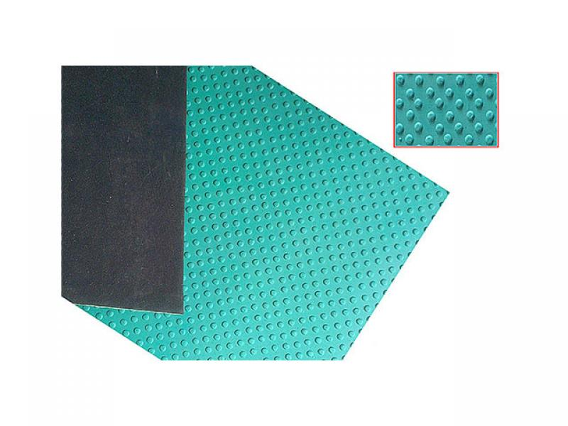 Small stud rubber mat