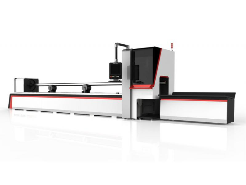 Automatic Fiber Laser Steel Tube Cutting Machine