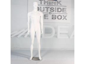 FRP mannequin male with head