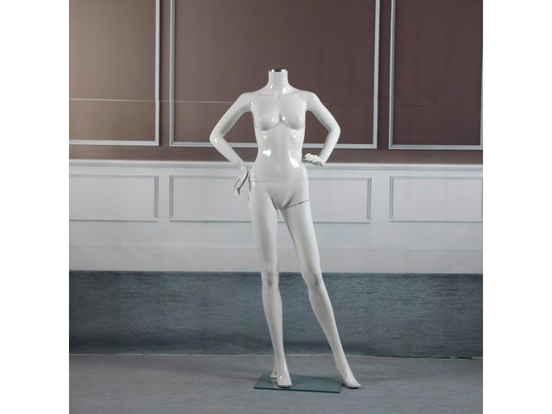 FRP mannequin female headless