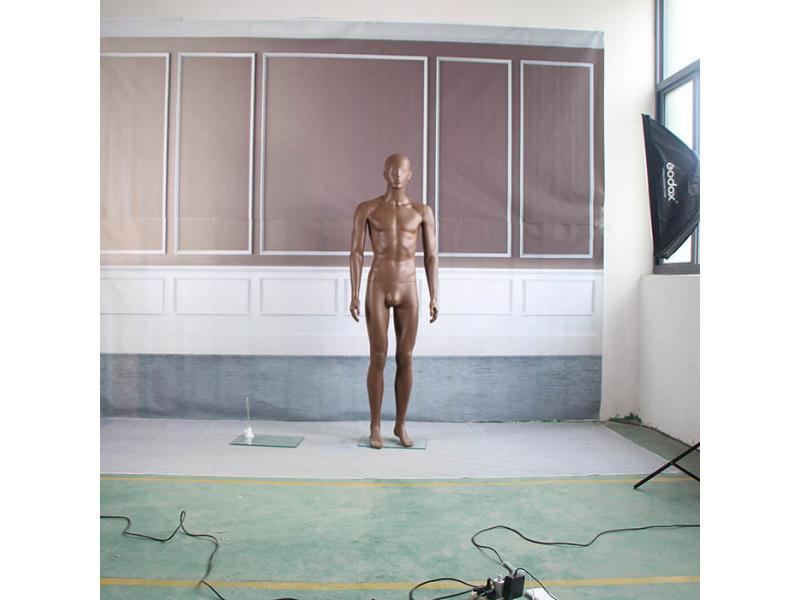 Plastic skin full body mannequin