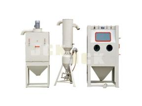 JiChuan Pressurized manual sand blasting machine