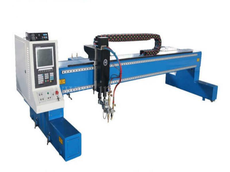 Gantry Type Plasma CNC Cutting Machine For Sale