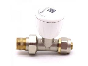20mm thermostatic manual radiator valve set for heating