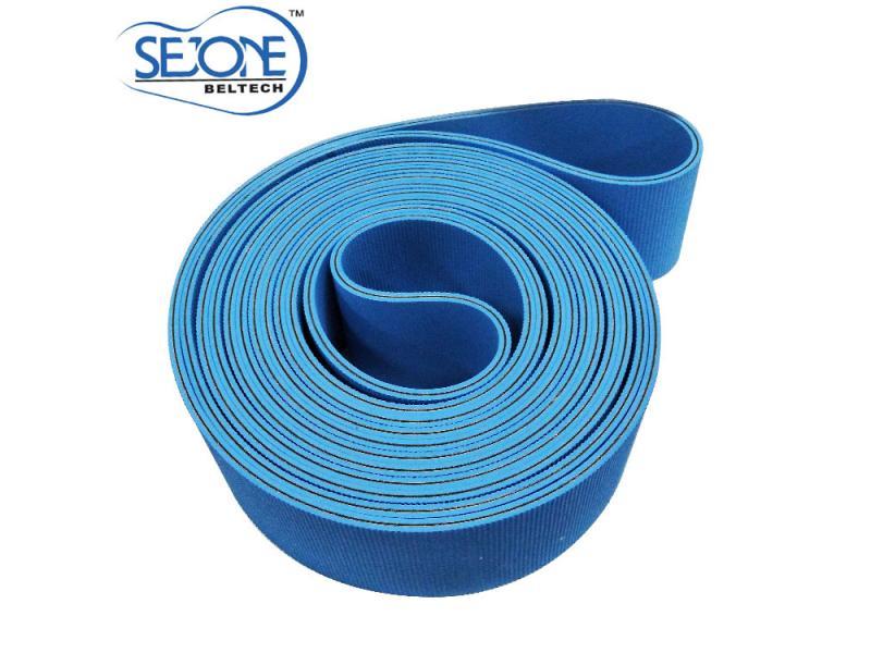 5.0mm thickness blue&blue  high quality  Flat transmission belt
