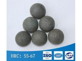 Hardness uniformity and high toughness hot forging wear-resistant steel ball Forging ball for ball m