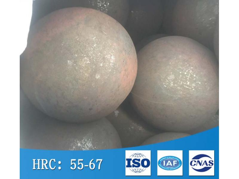 Large diameter forged ball for semi-autogenous grinding machine for mineral processing