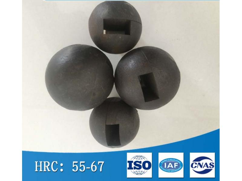 Wear-resistant forged steel ball for semi-autogenous grinding machine
