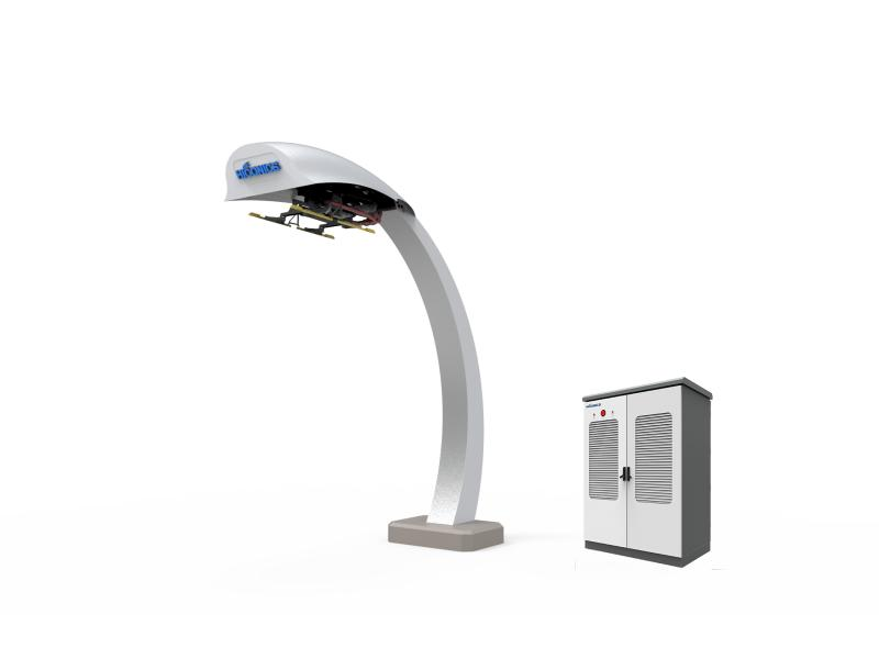Split type pantograph, EV bus charging station, EV charger, charging pile, EV charge point