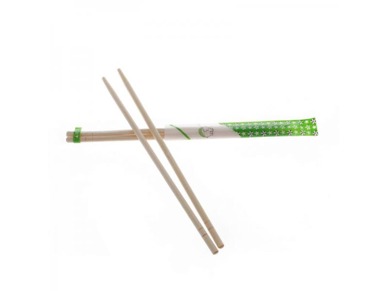 Wholesale Disposable Round Natural Bamboo Chopsticks