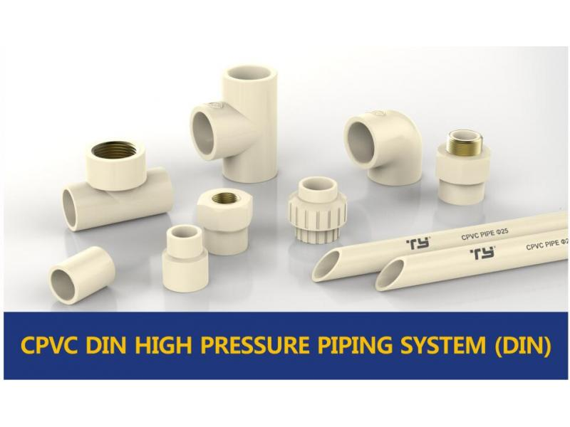 CPVC DIN HIGH PRESSURE PIPE SYSTEM (DIN)