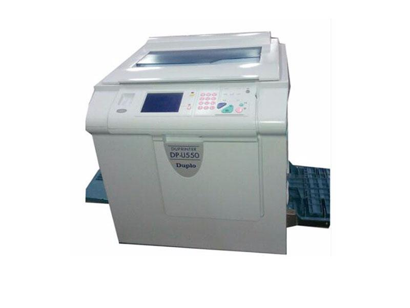 Good quality Duplo digital duplicator U550 used printing copier machines