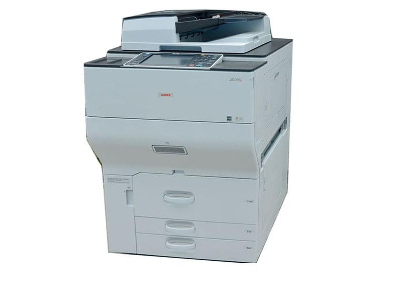 heavy duty used ricoh copier machine mpc8002 four color photocopy printer