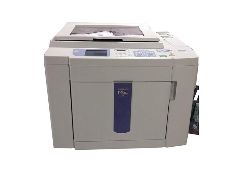 used risographs printer MZ770/MD5650 two color risos Digital Duplicator machine