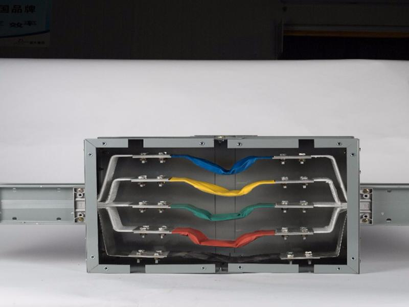 Safety Insulator electrical lighting busway /busbar trunking system in stock