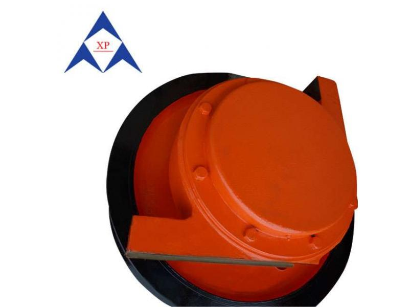 42CrMo steel forged wheel for crane
