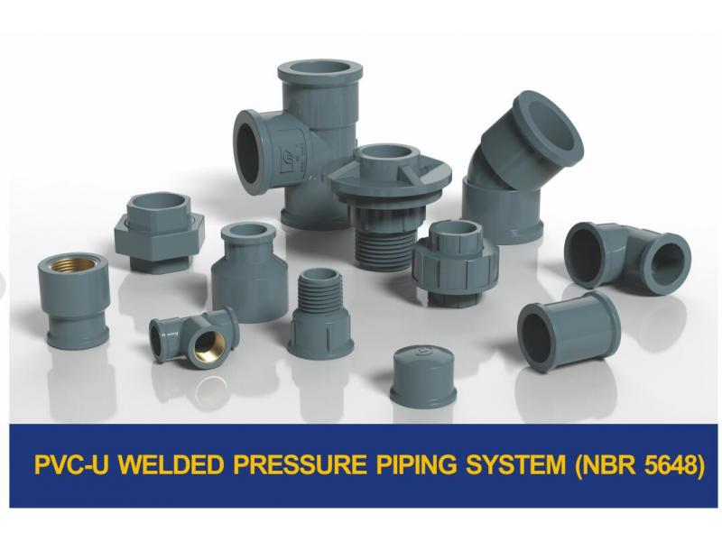 PVC-U WELDED PRESSURE PIPING SYSTEM(NBR 5648)