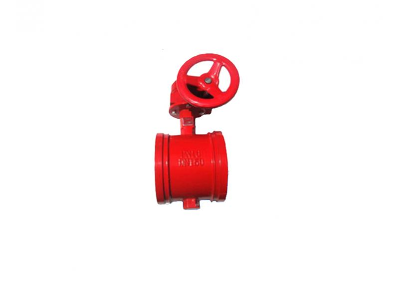 Butterfly valve handle