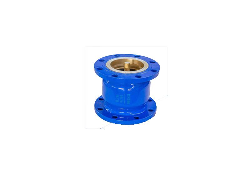 Groove check valve