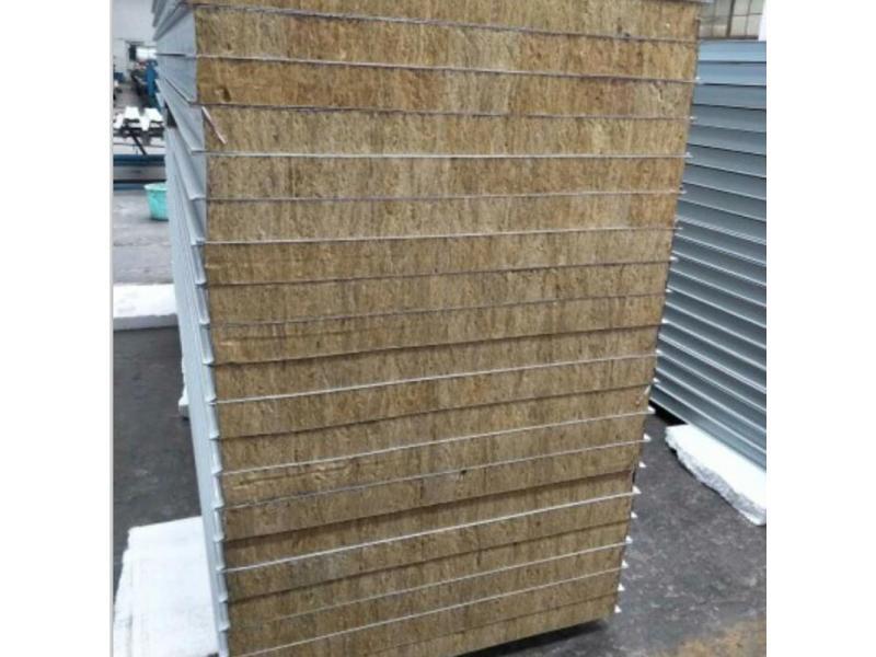 Fireproof rock wool sandwich panel