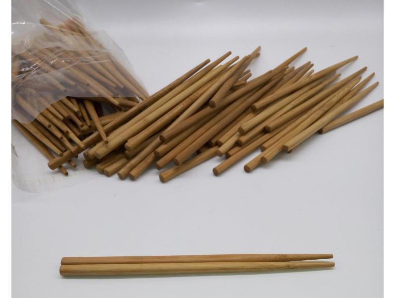 21Cm Disposable Sushi Restaurant Carbonized Tensoge Bamboo Chopsticks