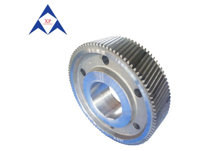 Straight gear stainless steel rotating gear ring