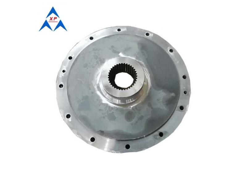 45# steel forged shaft coupling for machinery