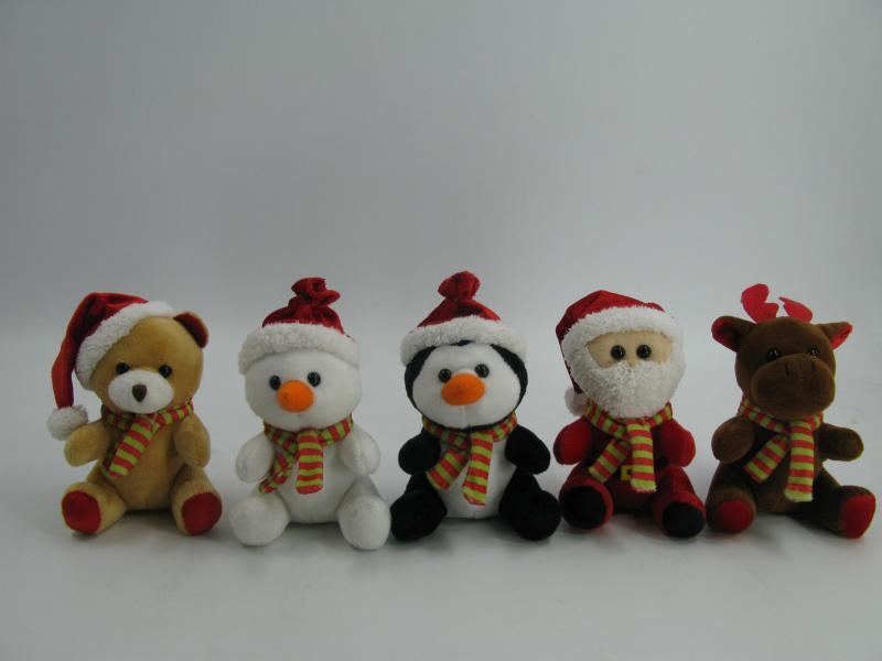 5'' Christmas Animal Group
