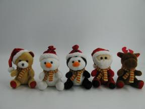 5'' Christmas Animal Group