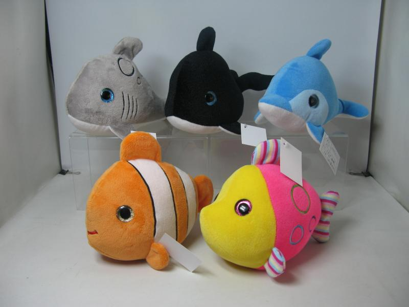 9'' fish Plush toy series