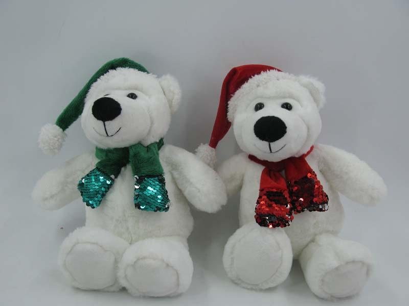 10'' Christmas bear Plush toy series